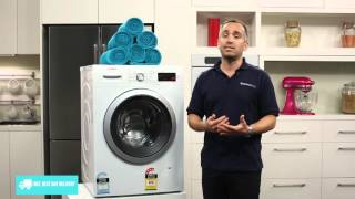 Bosch WAW28460AU 8kg Front Loading Washing Machine reviewed by product expert - Appliances Online