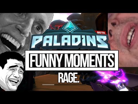 THIS GAME IS FRUSTRATING :( - Paladins Funny Moments (PC)