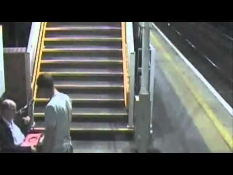 PIZZA ATTACK: Shocking CCTV footage from Hackney