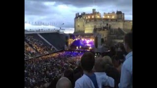 Proclaimers Edinburgh Castle - Sunshine on Leith