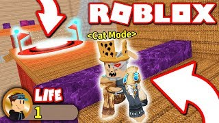I BEAT THIS OBBY IN ONE LIFE... comme un CAT?! (Roblox)