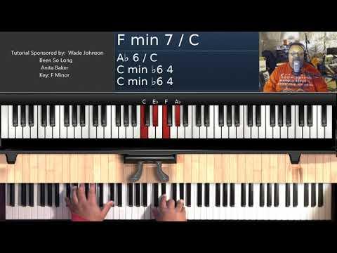 Been So Long (by Anita Baker) - Piano Tutorial thumbnail