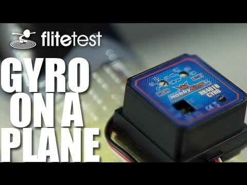 Flite Test - Gyro on a Plane - FLITE TIP