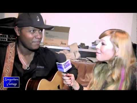 THE VOICE winner JAVIER COLON Interview w/ Katie Shorey for Songwriters Vantage