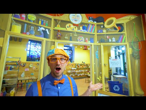 Blippi Visits a Kids Museum | 1 Hour of Learning Fun With Blippi | Educational Videos For Kids