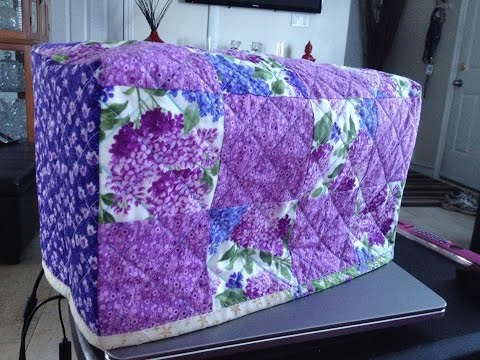 Quilting Tutorial) Sewing Machine Cover PART 1 (Video 115) - YouTube