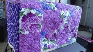 (Quilting Tutorial) Sewing Machine Cover PART 1 (Video 115)