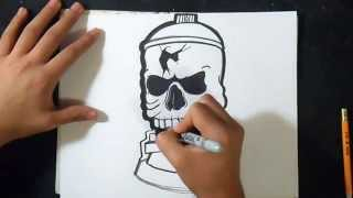 как рисовать череп 3  граффити(рисунок череп музыка (Audiomicro.com) Arm And A Leg Instrumental Inst., 2015-05-02T06:46:20.000Z)