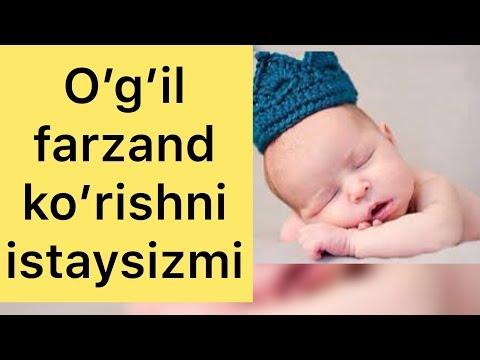 O'g'il farzand ko'rish sirini bilasizmi