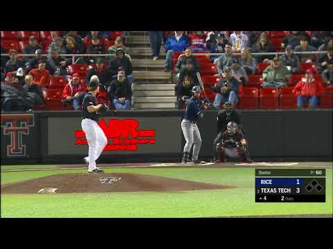 Texas Tech Baseball Vs. Rice: Highlights (W, 7-1) | 3.6.2020