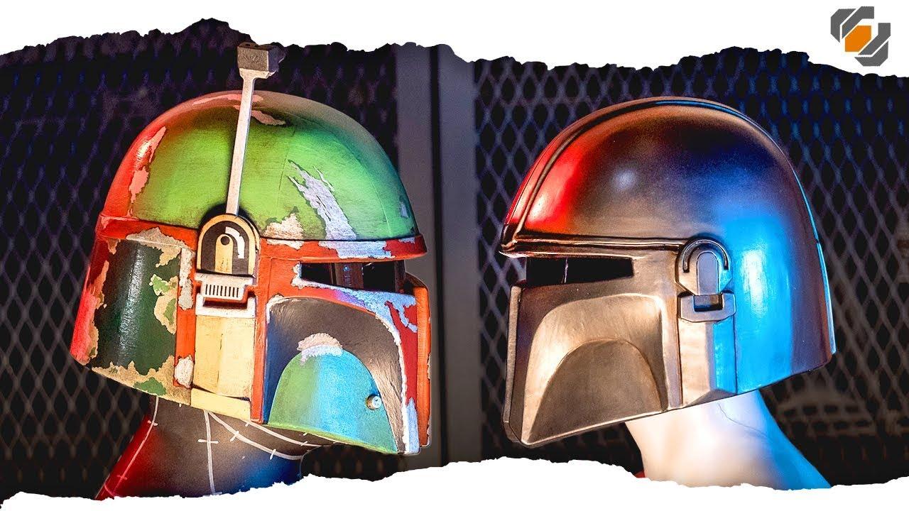 Let U0026 39 S Make Foam Helmets  Boba Fett  U0026 The Mandalorian
