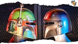 Let's Make Foam Helmets! BOBA FETT & THE MANDALORIAN | 500k Community Challenge