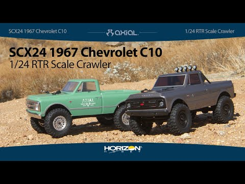 Axial® SCX24™ 1967 Chevrolet C10 Truck 1/24 Scale RTR
