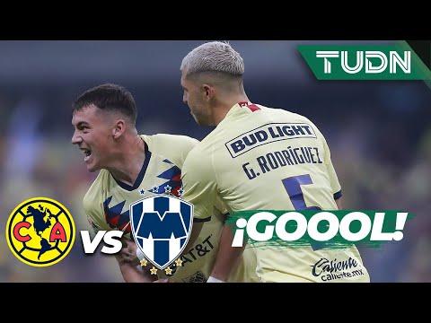 ¡Siempre Viñas! Gol del Ame | América 1 - 0 Monterrey | Final Vuelta - Liga MX - AP 19 | TUDN