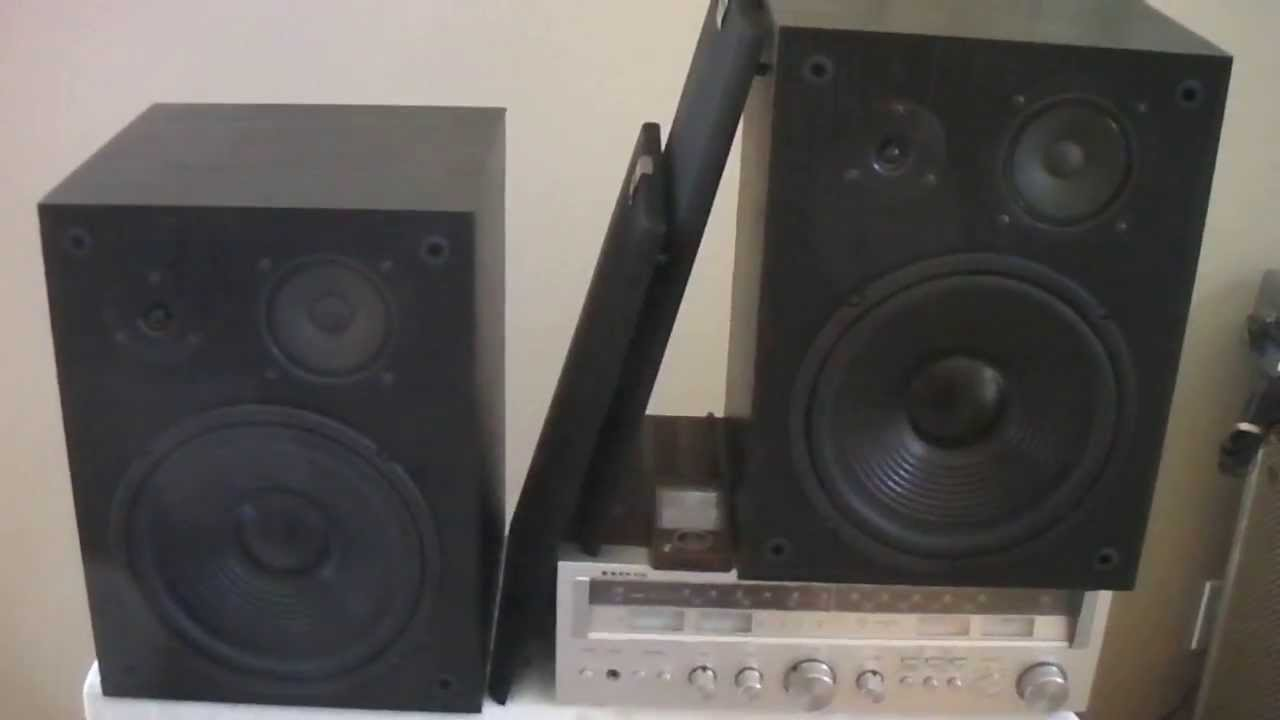 Altec Lansing 103 Bookshelf Speakers