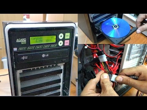 How To Build A Custom CD/DVD Duplicator With An Acard ARS Controller