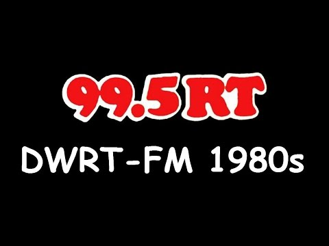 "1980s DWRT 99.5MHz ""99.5 RT"" Old Radio Jingle"