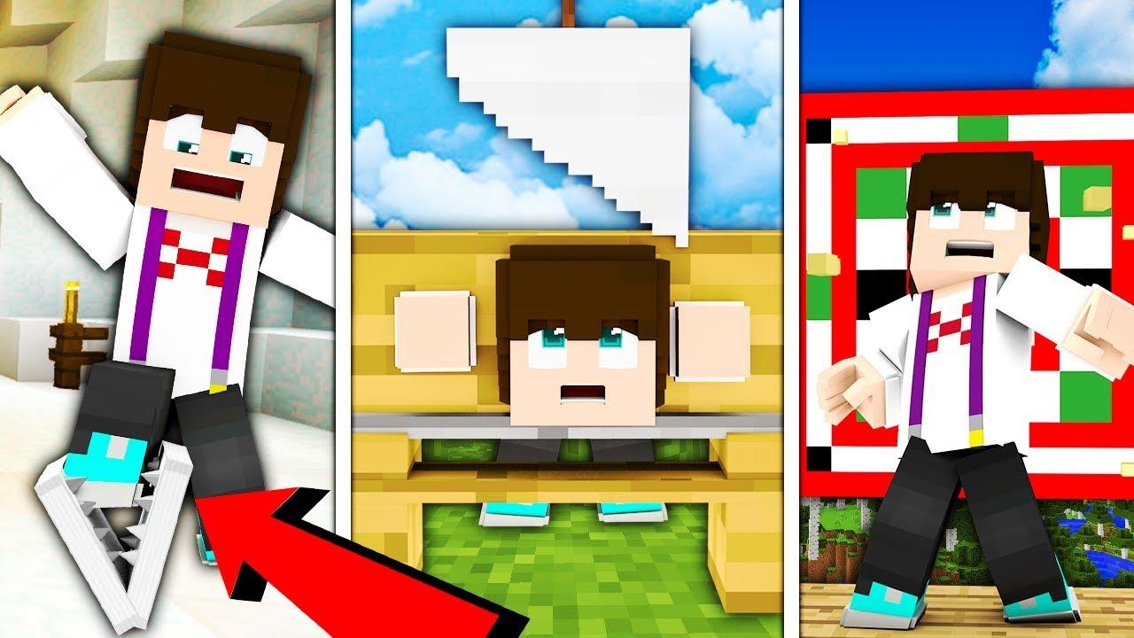 10 SPOSOBÓW NA TORTURY SZENDIEGO!!! – Minecraft Doświadczenie #5