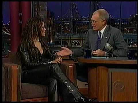 Janet jackson on letterman part 1 youtube for Jackson galaxy band