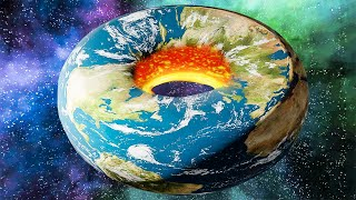 when you turn earth into a donut shaped planet