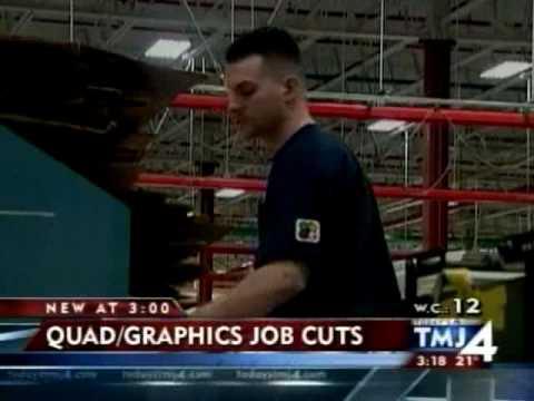 JS OnAir: Quad Graphics cutting hundreds of jobs