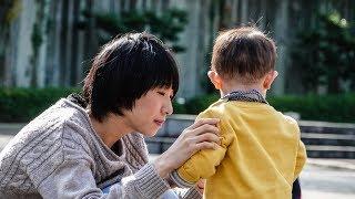 育兒成長紀錄 1歲3個月 龜岡市民運動公園秋季散策 - 亀岡運動公園で散歩