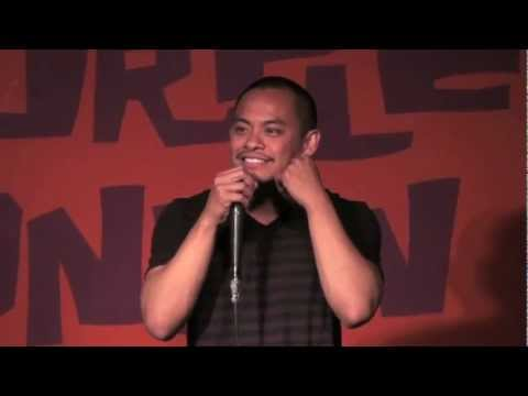 Comedian does Female Voice