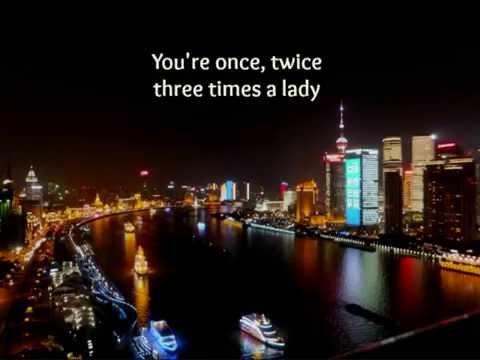 Three Times A Lady (Lyrics) - Lionel Richie