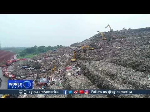 Waste piles into mountains as Jakarta struggles with trash