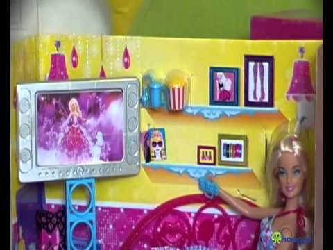 barbie couch & living room furniture, includes a doll - Barbie Couch & Living Room Furniture, Includes A Doll - YouTube