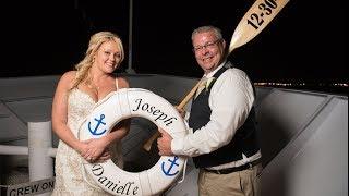 Wedding on Yacht Starship 1 - Danielle & Joseph