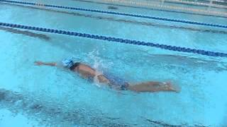 видео: руки кроль  ноги дельфин сверху