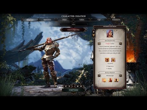 Divinity Original Sin 2 - In-Depth Look At Character Creation