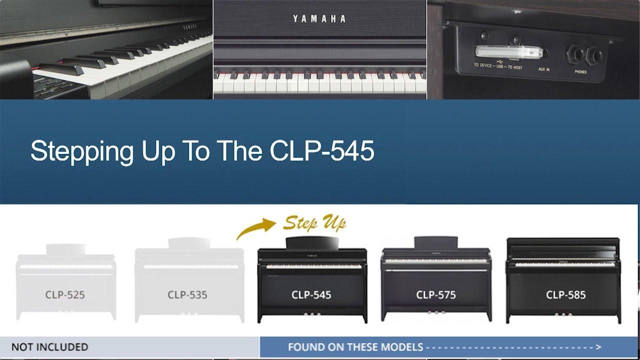 yamaha clp 545 step up guide youtube. Black Bedroom Furniture Sets. Home Design Ideas