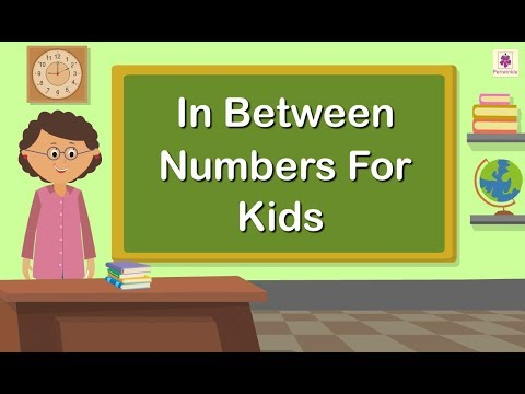 In Between Numbers For Kids | Numbers 0 to 9 | Maths Concept For ...