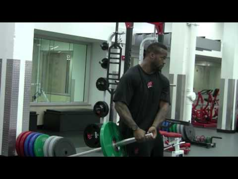 Wisconsin Strength Training: LAND MINE CORE TRAINING TECHNIQUE