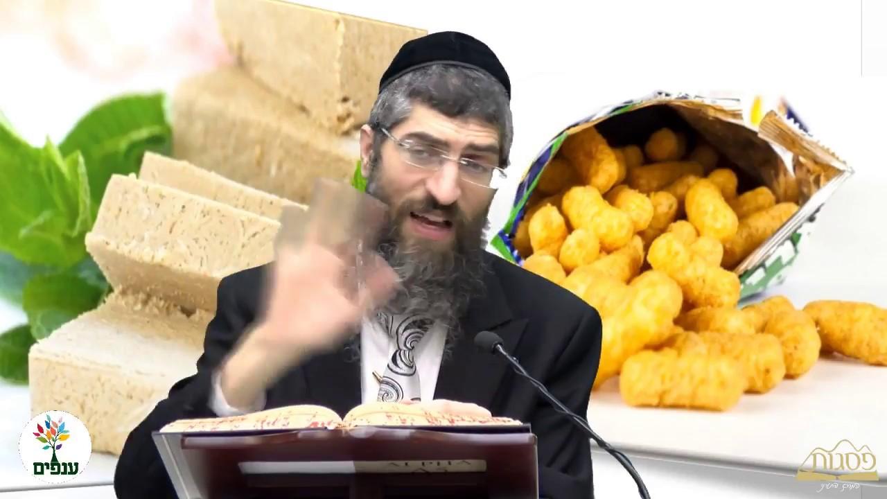 הלכות פרות וירקות מרוסקים - הרב יצחק יוסף HD