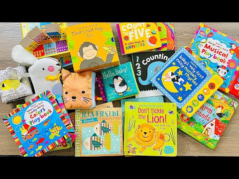 Best Usborne Baby Books ULTIMATE VIDEO! (2020 / Over 40 Books Shown / Perfect for Development!)