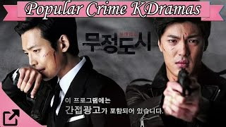 Top 25 Popular Crime Korean Dramas 2016 (All The Time)