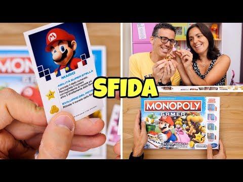 SFIDA A MONOPOLY GAMER con Super Mario