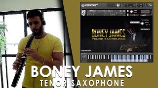 VST Boney James Tenor Saxophone Sample Library
