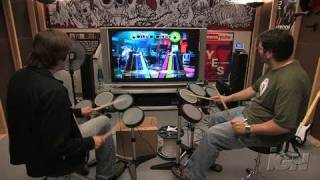 Rock Band (game only) Xbox 360 Gameplay - Drum-Off: