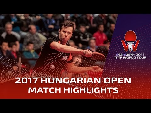 2017 Hungarian Open Highlights: Vladimir Samsonov vs Quentin Robinot (R32)