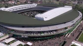 Introducing the new No.1 Court at Wimbledon