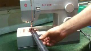 Thickness Changes - Singer Commercial Grade Heavy Duty Sewing Machine