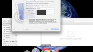 Account einrichten über Apple Mail  / Gmail / Web.de / GMX.de / 1&1