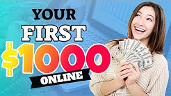 Fastest Way To Make Your First $1,000 Online (Make Money Online 2020)