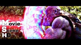 Avengers VS Thanos - Slow Motion Fight Scene -Avenger Infinity War Movie 2018 HD