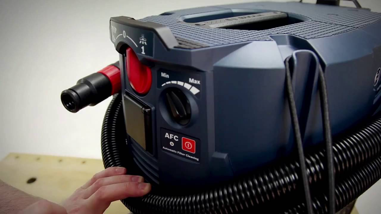 Bosch 14 Gallon Dust Extractor With Automatic Filter Clean VAC140A