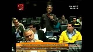 """[Vídeo] Americo De Grazia """"Pretenden debatir tonterías cuando el país está sumergido en crisis"""""""